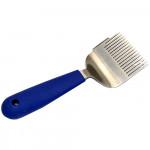 Вилка для распечатывания сот Profi из нержавеющей стали с силиконовой ручкой